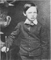 Photograph of Willie Lincoln taken in Washington by Mathew B. Brady in 1861