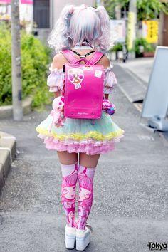 Harajuku-Decora-Fashion-Walk-15-029.jpg (1000×1500) | japanese street fashion♡ | Pinterest