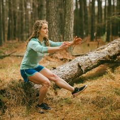 3 Leg Exercises to Jumpstart Your Hiking Season. Strengthen your legs for early-season hikes, which often involve postholing in lingering snow up high and crossing run-off swollen rivers down low. Leg Strengthening Exercises, Knee Exercises, Straight Leg Lifts, How To Strengthen Knees, Workout Mix, Squat Variations, Gluteus Medius, Leg Raises, Core Muscles