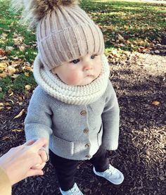 Fashionable and adorable baby