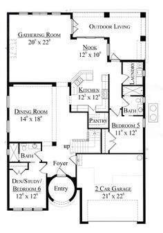 Gensmart eldorado heights plan 4xa room for multi for Extended family house plans