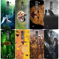 For LG K10 / M2 Case Fashion Animal Anime Cartoon Colorful Oil Painting Phone case Hard Plastic Back Cover Skin Protect cover #Affiliate