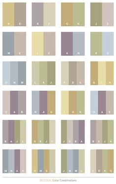 Use a Neutral Color Palette