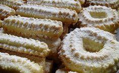Spritz Cookie Recipe, Spritz Cookies, Cookie Recipes, Czech Recipes, Croatian Recipes, Ethnic Recipes, Christmas Baking, Christmas Cookies, Mini Cakes
