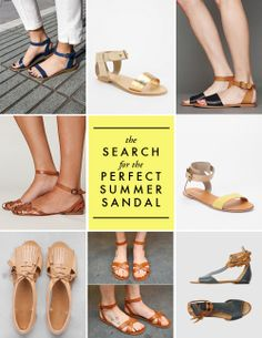 Help me find the perfect summer sandal!