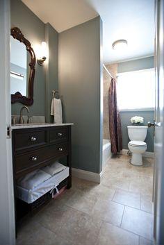 apparently I like blue bathrooms