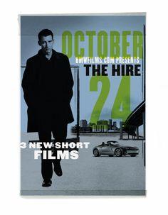 "BMW Films ""The Hire"" by Kevin Flatt, via Behance"