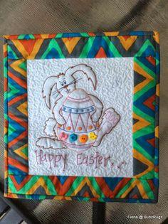 "BubzRugz: 12"" Easter mini quilt"