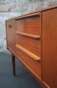 Original Mcintosh Vintage Teak Sideboard Buffet Mid Century modernist 1960s | eBay