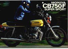 Motos Clássicas 80: HONDA CBX750F