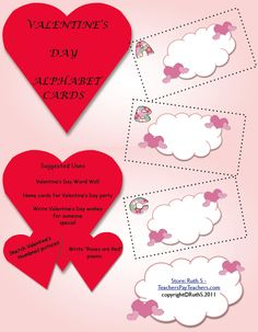 1000 images about valentine 39 s day activities on pinterest journal writing prompts valentines. Black Bedroom Furniture Sets. Home Design Ideas