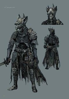 Dark Souls 3 Concept Art - Eygon Concept Art