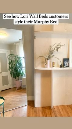 Best Murphy Bed, Murphy Bed Ikea, Lori Walls, Diy Bed Frame, Bed Wall, Bathroom Medicine Cabinet, Bedroom, Style, Swag