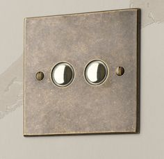 Antiqued brass #touch #dimmer #switch