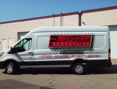 Custom design and installation vehicle graphics for a local remodeler - certainly takes them to the next level of 'handyman' services!