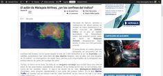 El avión de Malaysia Airlines, ¿en los confines del Indico? | Alicante Press #MalaysiaAirlines #Airlines