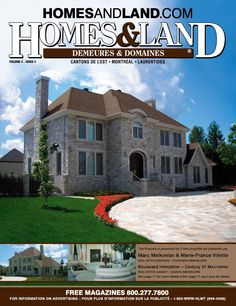 -- Volume 4 Issue 4 -- Homes&Land Demeures & Domaines by Marc Melkonian & Marie-France Villete