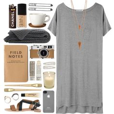 Grey Skies, created by kinky-rick on Polyvore