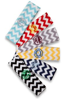 Chevron Knit Sorority Headbands. www.sassysorority.com #chevron #sorority #headbands #greek #greek life #recruitment