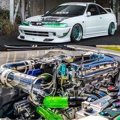 Get the HorsePower on this ride here! Honda Civic Hatchback, Honda Civic Si, Tuner Cars, Jdm Cars, Honda Accord Wagon, Vtec Engine, Acura Tl, Japanese Cars, Motor Car