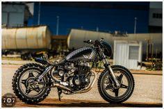 1981 Honda CM400T - 7Seven Customs - Pipeburn - Purveyors of Classic Motorcycles, Cafe Racers & Custom motorbikes