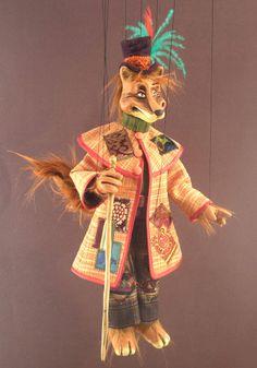 venetian marionette of fox