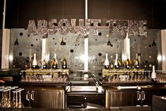 For the launch for Absolut's new sparking wine-infused vodka in New York, event designer Nicky Balestrieri of ExtraExtra tapped Confetti...New and unique bar ideas for your wedding or special event. Posted by Premiere Party Central, Tents and Event Rentals in Austin, Texas (TX).    http://www.PremierePartyCentral.com