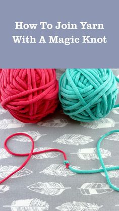 Beginner Crochet Projects, Crochet Basics, Knit Or Crochet, Crochet Crafts, Yarn Crafts, Crotchet, Joining Yarn, Magic Knot, Crochet Instructions