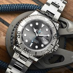 Rolex Yacht-Master Rhodium 116622 Watch