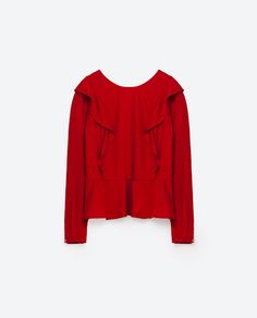 Image 8 of FRILLED SHIRT from Zara