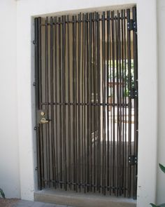 Cool privacy wall idea for front slider porch area