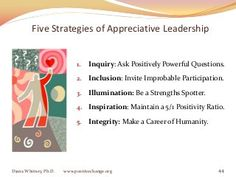 Appreciative Leadership Plenary WAIC 2012
