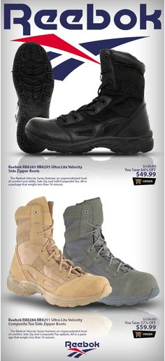 Major Sale On Reebok Ultra Lite Boots! Over 57% OFF + Free Shipping! $39.99…