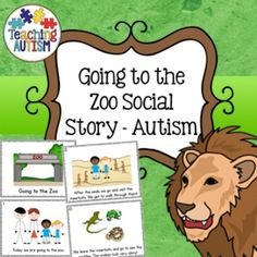 This social story is a great read for children who may need some preparation for an upcoming visit to the zoo.The animals included have been kept as generic as possible so that they will more than likely be seen in any zoo.It is a generic story of two children who go to the zoo with their family.