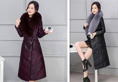 Luxury plus 4XL winter long down jacket imitation sheep leather quality