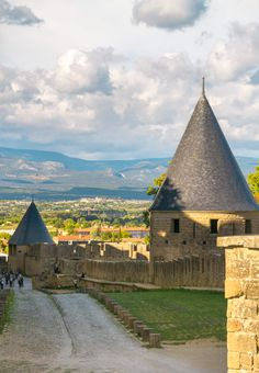 Carcassonne medieval city by Eve Coquelet / 500px