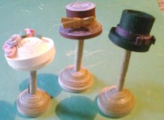 Quilled hats