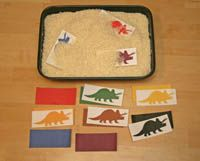 Digging for Dinosaurs Matching Game