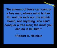 Heinlein on the Free Man
