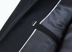98a48758bd1 MOGU Mens Slim Fit One Button Casual Blazer Jacket US Size 31 (Label Asian  size M) Black