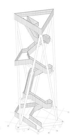 Torre de Observación Lommel / Ateliereen Architecten | Plataforma Arquitectura