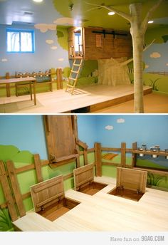 Vbs treehouse need a door in the floor and a ladder and a for Idea door journey to bethlehem