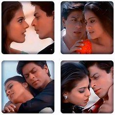 Shah Rukh Khan and Kajol