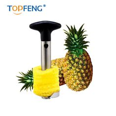 Stainless Steel Pineapple Peeler for Kitchen Accessories Pineapple Slicers Fruit Knife Cutter Kitchen Tools Pineapple  Cutter #Affiliate