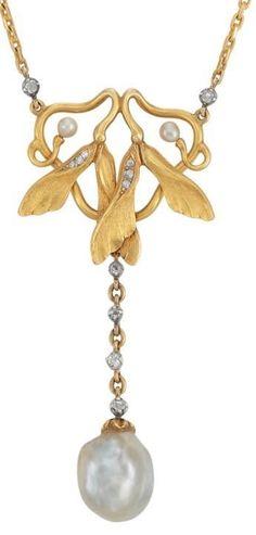 Art Nouveau Gold