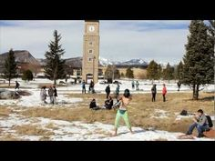 Our students get their Harlem Shake on by the Clock Tower!