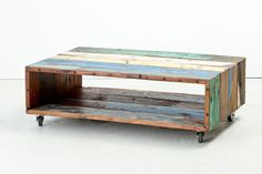 Cahaya Caster Coffee Table -