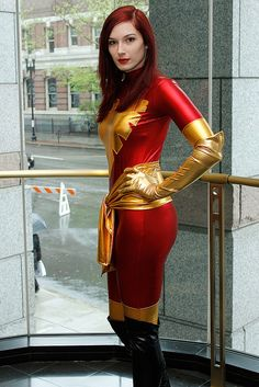 Character: Phoenix 'aka' Jean Grey Extraterrenial Clone. Version Endsong. X- Men Marvel Comic Series. Event: Boston Comic Con 2012. Photography: Rodney Brown.