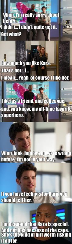 Supergirl - Winn Kara and James