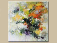Abstract painting Original Fine Art Acrylic painting por artbyoak1, $275.00
